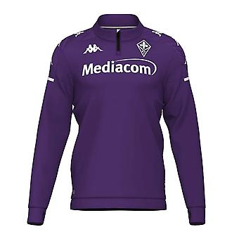 2020-2021 Fiorentina Half Zip Training Sweat (Violett)