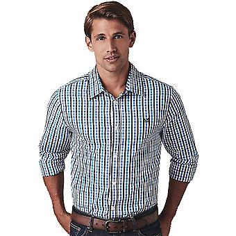 Crew Clothing Mens Classic Multi Gingham Long Sleeve Shirt