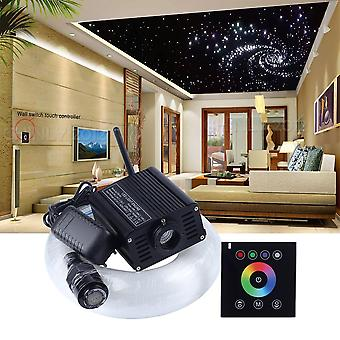 Led Fibre Optique Light Rgbw 2.4g Wireless Wall Switch Touch Controller Star