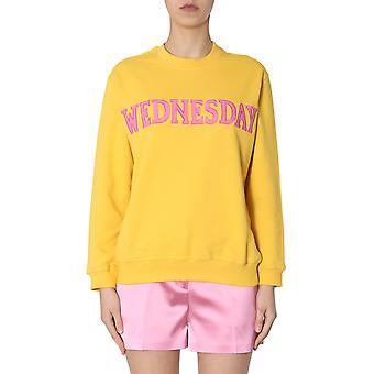 Alberta Ferretti 170116760029 Damen's gelb Baumwolle Sweatshirt