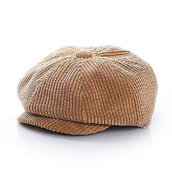 Boys Corduroy Newsboy Baby Cap Kids Hats Autumn Winter Baby Boy Hat For 1-7y