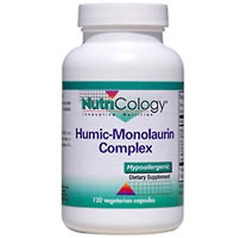 Nutricology/ Allergi Forskningsgruppe Humic-Monolaurin Kompleks, 120 VEG CAPS
