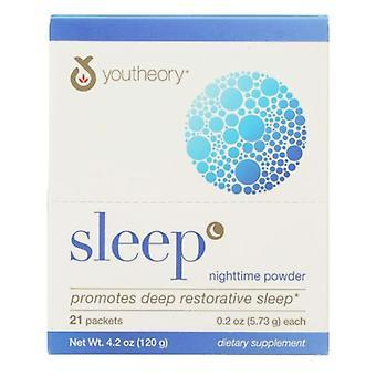 Youtheory Sleep Powder, 21 Packets