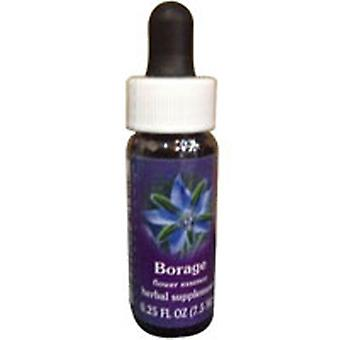 Flower Essence Services Borage Dropper, 0,25 oz