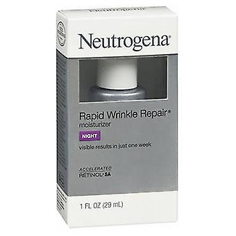 Neutrogena Rapid Wrinkle Repair Moisturizer Night Cream, 1 oz