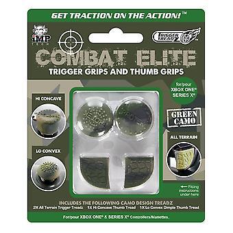 Combat elite thumb & trigger grip pack (xbox series x & s / xbox one)
