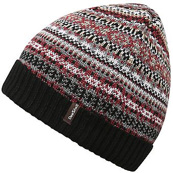 DexShell Unisex Fair Isle Waterproof Windproof Knitted Thermal Beanie Hat