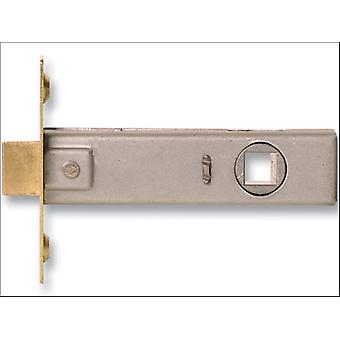 Sterling (Padlocks) Tubular Mortice Latch Brass Plated 3in TML130