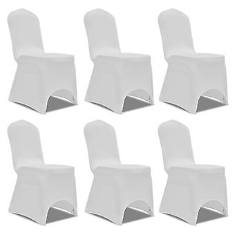 6 x Chair Husse Stretchhusse white