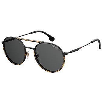 Carrera 208/S 003/IR Matte Black/Grey Sunglasses