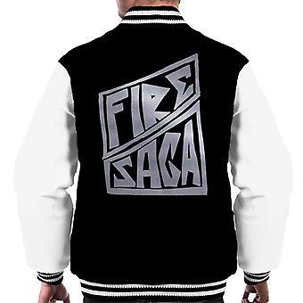 Brann Saga Band Logo Menn's Varsity Jacket