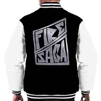 Fire Saga Band Logo Homme & s Varsity Jacket