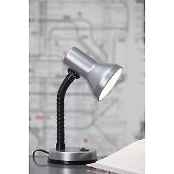 Brilliant Junior Desk lamp Energy-saving bulb, Light bulb E-27 40 W Titanium
