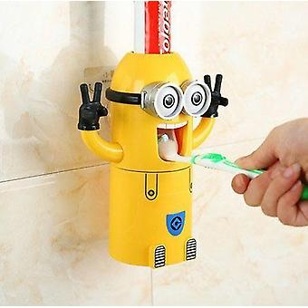 Lille banan tandpasta dispenser
