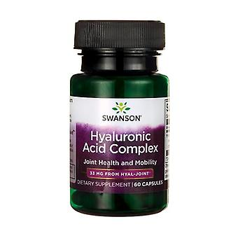 Ultra Hyaluronic Acid Complex 60 capsules of 33mg