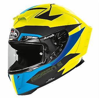 Airoh GP550S Vektor Full Face Motorcycle Helmet Blue ACU Approved