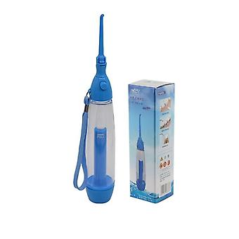 Portable And Manual Dental Water Flosser-teeth Cleaning Device