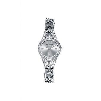 Mark maddox horloge trendy zilveren mf0005-87
