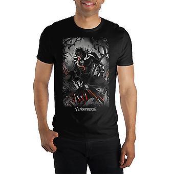 Marvel comics venomverse venom men's t-shirt