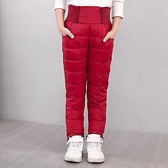 Warm Winter Pants,,, High Waist, Clothing, Trousers Long