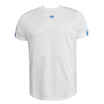 Alexander Wang Short Sleeved Mens T-Shirt White BQ9797 RW51 tarafından Adidas Originals