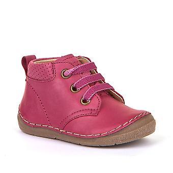 FRODDO Laced Short Boot Fuchsia Pink