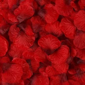 100kpl keinotekoisia ruusun terälehtiä värikäs häät romanttinen silkki ruusu kukka
