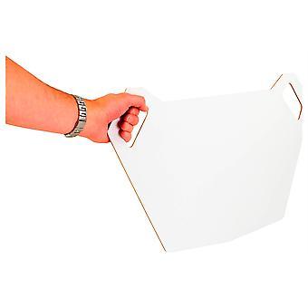MX Pit White Board- Both Sides White Dry-Wipe