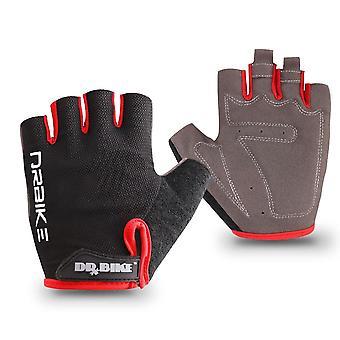 Vélo, gants de demi-doigt de cyclisme avec la conception absorbante de sueur et les femmes