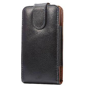 Genuine Leather Holster Executive Case belt Clip Rotary 360 Magnetic Closure for Oukitel K7 Pro (2019)