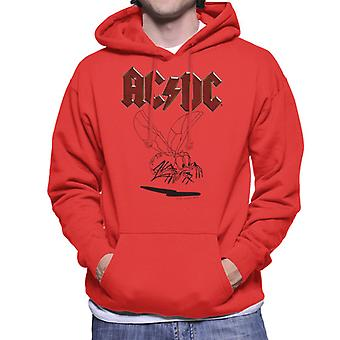 AC/DC Mosquito Sketch Men's Hooded Sweatshirt