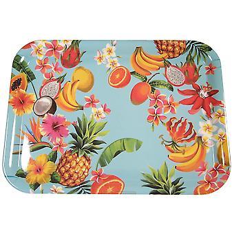 Tablett Tropisch 23x17 cm