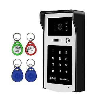 Rfid Video Intercom Doorbell Call Panel Caméra vidéo étanche