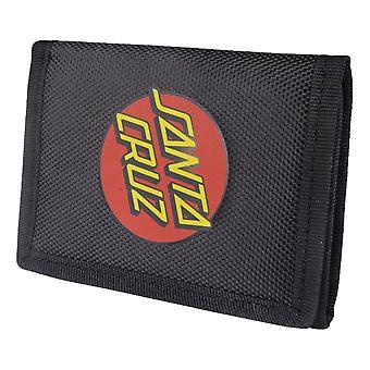 Santa Cruz Classic Dot Wallet - Black