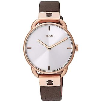 Tous watched let watch for Women Analog Quartz with Cowhide Bracelet 000351475