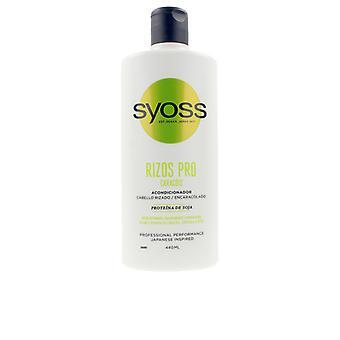 Definierad curlbalsam Pro Syoss Rizos Pro (440 ml)