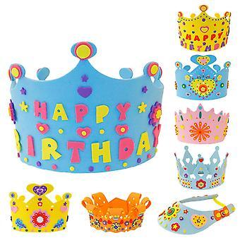 Diy Syntymäpäivä Tiaras Hattu