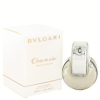 OMNIA CRYSTALLINE by Bvlgari EDT Spray 40ml