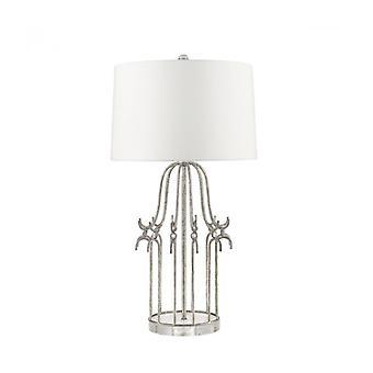 Lámpara De Mesa Stella Gris