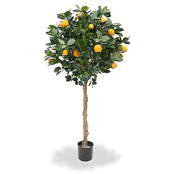 Oranger artificiel sur le tronc 120 cm