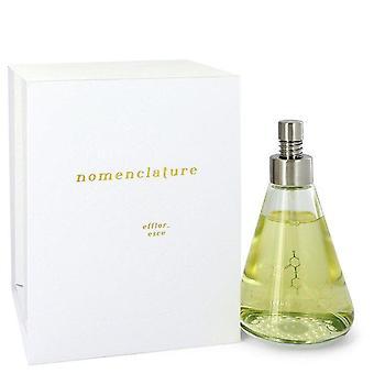 Nomenclature Efflor Esce Eau De Parfum Spray By Nomenclature 3.4 oz Eau De Parfum Spray