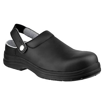 Amblers fs514 antistatic safety clogs womens