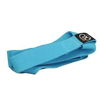 Fitness Yoga Mad Mat llevar correa - azul claro