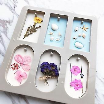 Diy Aromaterapia tabletit muotit roikkuva vaha, kukka saippua muotti käsityö tarvikkeet