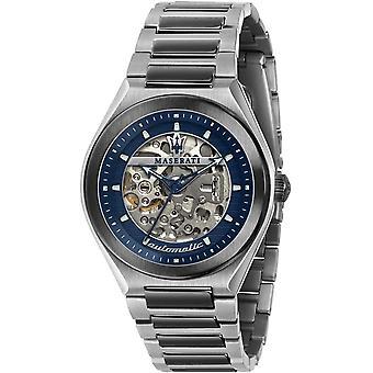 Maserati R8823139003 Montre-bracelet automatique Triconic Pour Homme