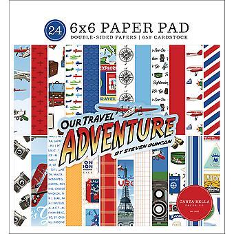 Carta Bella ons reisavontuur 6x6 inch papieren pad