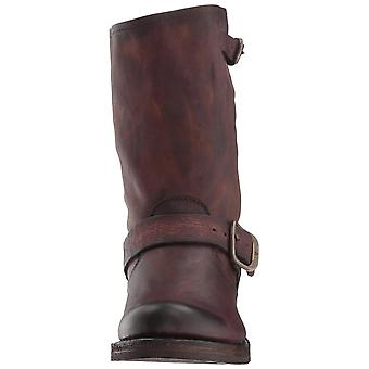 FRYE Womens Veronica Leather Closed Toe Mid-Calf Fashion Boots