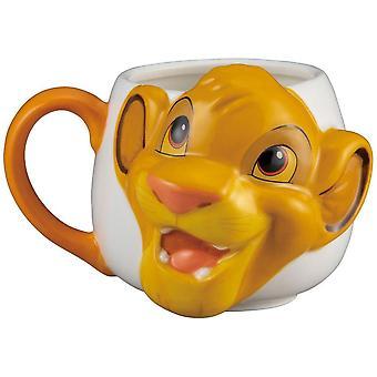 Lion king simba face mug