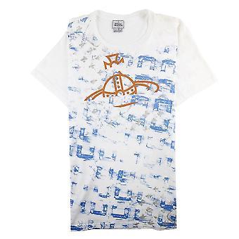 Vivienne Westwood Broken Logo T Shirt White