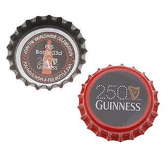 Final Sale - Printed Red Black Crown Bottle Caps Craft Scrapbook No Liners (50)
